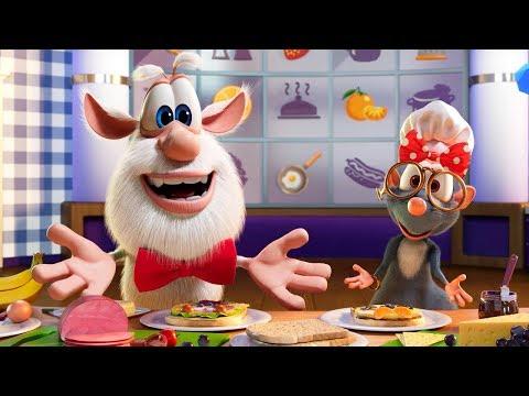 Буба 😋 Еда и напитки 🍜🥤 ЗАБАВНАЯ подборка - Весёлые мультики для детей - Буба МультТВ