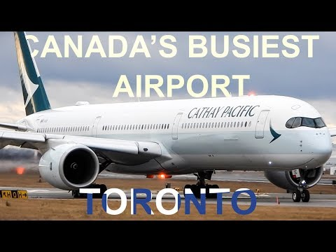 Plane Spotting At Canada's BUSIEST Airport! Toronto-Pearson (YYZ/ CYYZ)