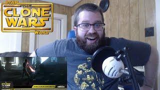 Star Wars The Clone Wars Season 6 Trailer Reaction!!! (CLONE WARS IS BACK!)
