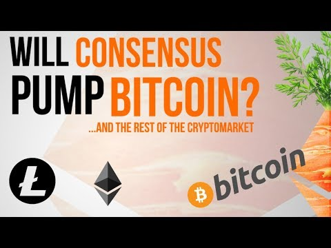 Will Consensus Pump Bitcoin?? ...and the rest of the cryptomarket?
