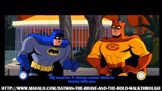 Batman: The Brave and the Bold Walkthrough - Episode 1: The Case of the Siamese Diamond!