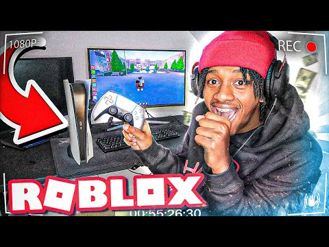 Playing Roblox On PS5