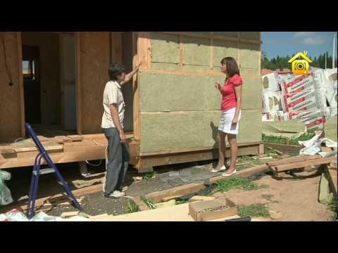 видео: Утепление каркасного дома // forumhouse