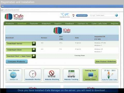 How to Install CyberCafePro Internet cafe software?