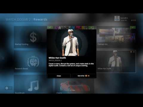 Watch Dogs - All Uplay Rewards DLCs (Free Content) Ubisoft Club Rewards