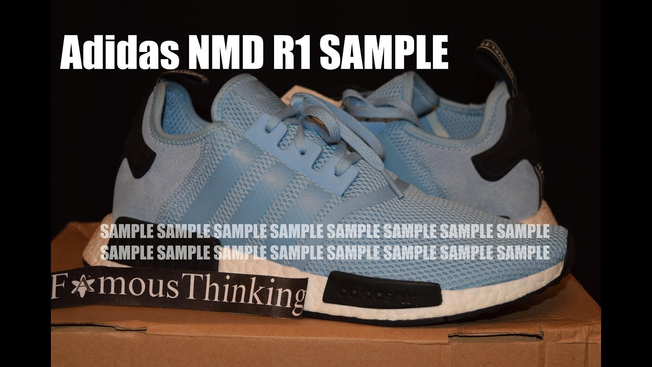 Muestra Adidas NMD R1 nunca lanzado YouTube