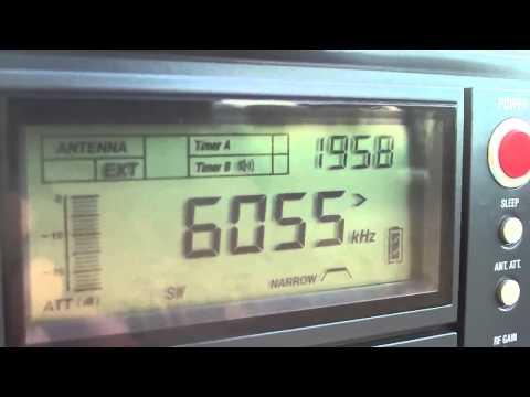6055 khz Radio Nikkei 1 ,  Chiba-Nagara , Japan