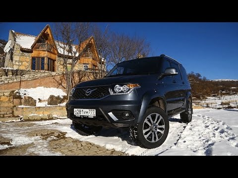 Новый УАЗ Patriot в горах Армении.