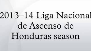 2013–14 Liga Nacional de Ascenso de Honduras season