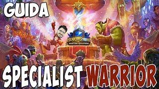 [Hearthstone ita] Bomb Warrior in torneo Specialist [L'ascesa delle Ombre post nerf]