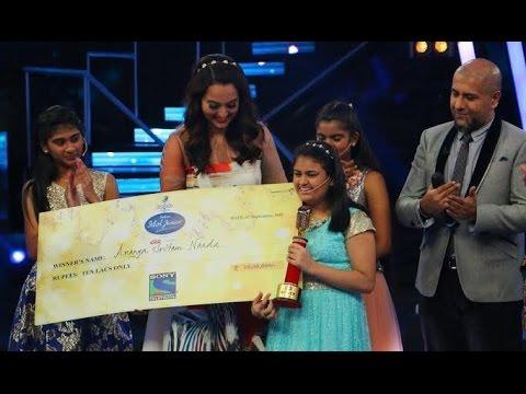 Indian Idol Junior Grand Finale...ANANYA NANDA WINS INDIAN IDOL JUNIOR