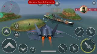 gunship Battle Game -  Gyrfalcon - Shenyang J31 - Updating With Gold - Review - New Update
