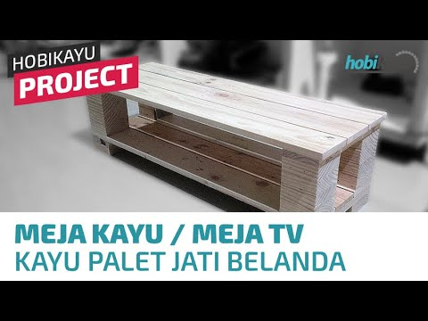 Diy Simple Pallet Table Tv Stand