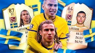 BEST STRIKER EVER?! LEGEND HENRIK OR JORDAN LARSSON!? FATHER AND SON FIFA SQUADS! FIFA 17