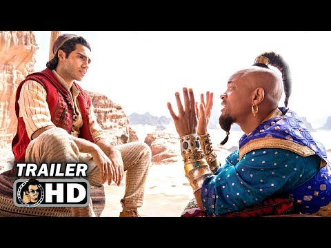 ALADDIN Teaser Trailer #2 – First GENIE Footage (2019) Will Smith Disney Movie HD