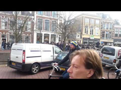 SC Cambuur Leeuwarden derby optocht