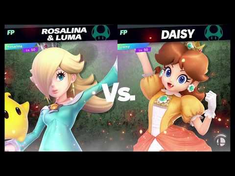 Super Smash Bros Ultimate Amiibo Fights   Request #8662 Rosalina vs Daisy