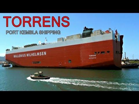 TORRENS (Pure Car & Truck Carrier) Port Kembla Arrival