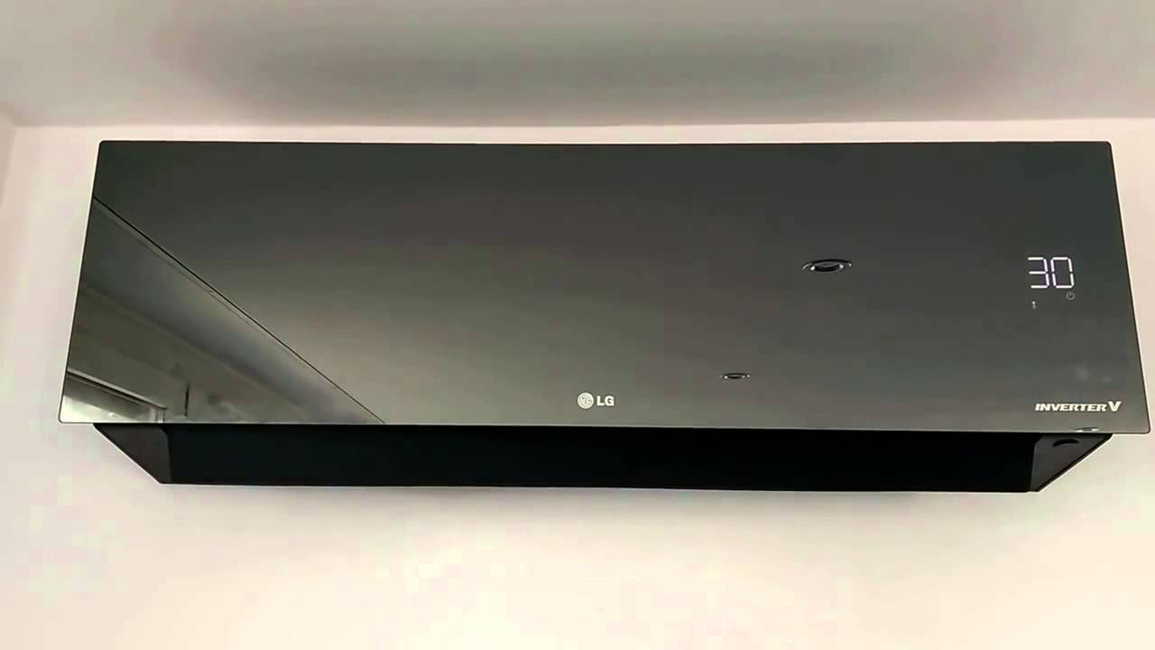 Lg Lan090hsv5 9000 Btu Art Cool Mirror