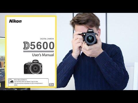Nikon D5600 & D5500 Tutorial Guide (Buttons, Dials