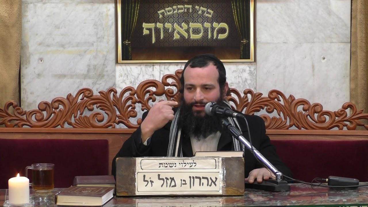 הרב אברהם זרביב מעלת השמחה