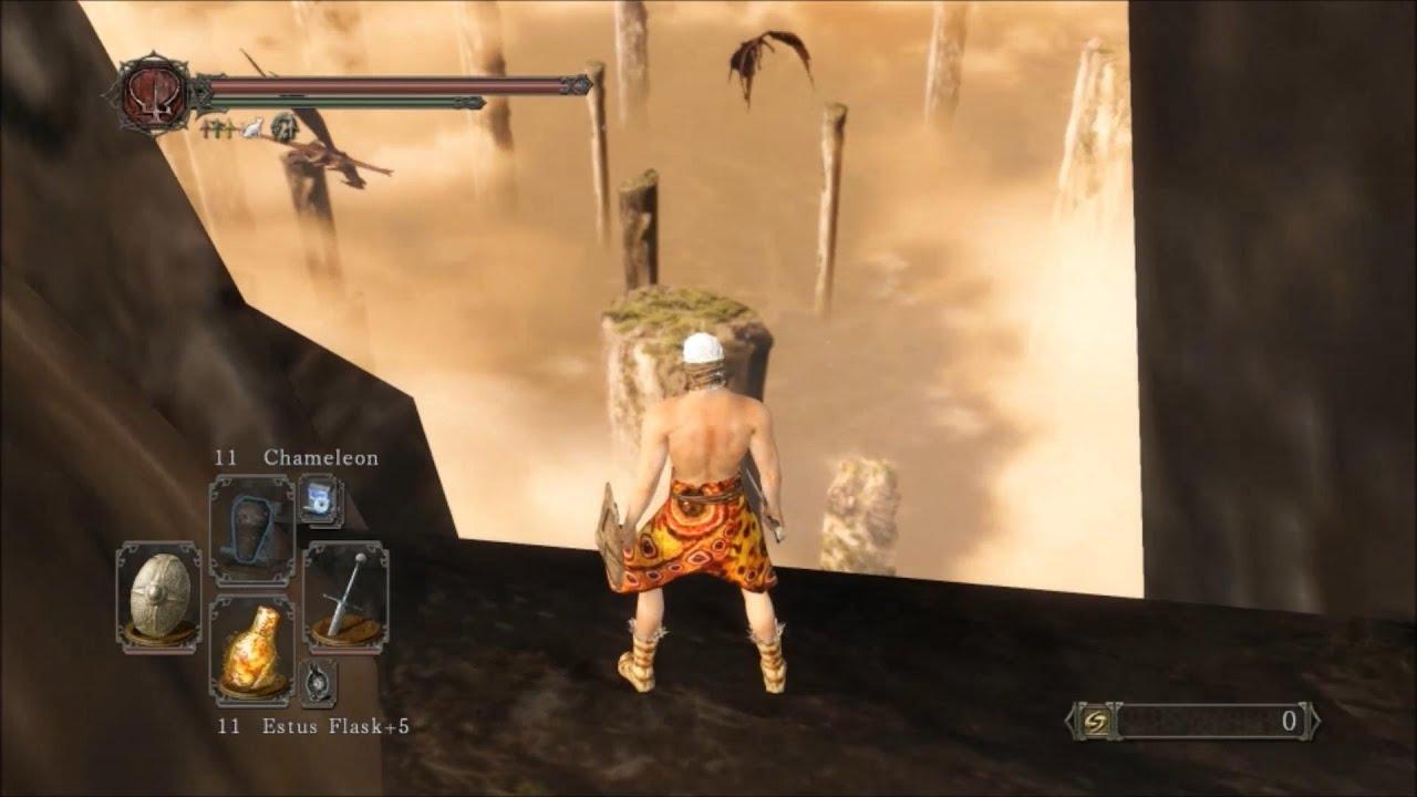 Dark Souls 2 - Dragon Shrine | Out of Map Glitch - YouTube on