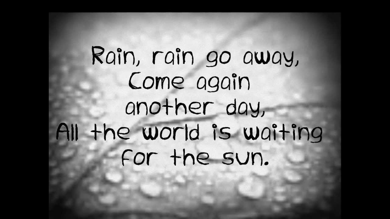 Rain- Breaking Benjamin [LYRICS]