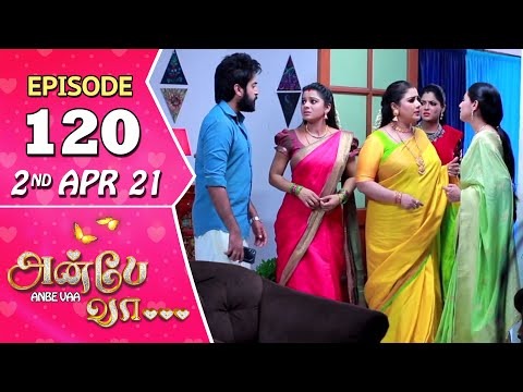 Anbe Vaa Serial | Episode 120 | 2nd Apr 2021 | Virat | Delna Davis | Saregama TV Shows Tamil