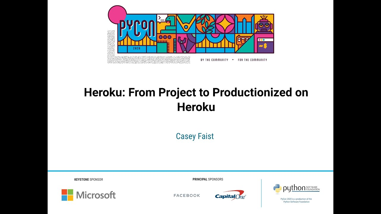 Image from From Project to Productionized on Heroku