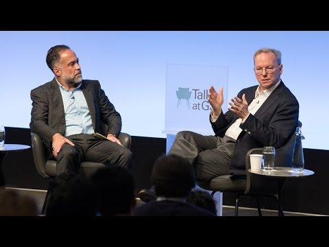 Eric Schmidt: The Artificial Intelligence Revolution - YouTube