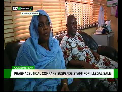 Codeine ban: Pharmaceutical Company suspends staff for illegal sale
