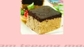 Resep Hoky - Cara Membuat Brownies Lapis Kelapa Yang Praktis