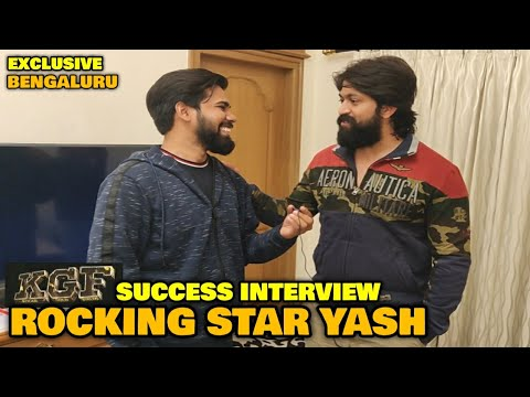 KGF | Rocking Star Yash In Conversation With FilmiFever | KGF Success | Bengaluru | Happy New Year