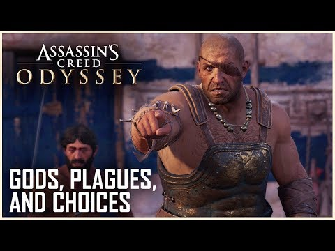 Assassin's Creed Odyssey: Gods, Plagues, and Other Early Dilemmas | Gameplay Preview | Ubisoft [NA] thumbnail