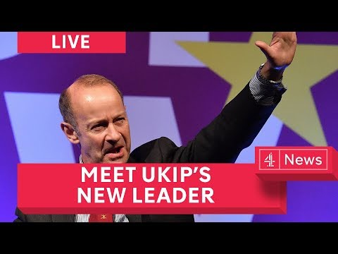 Henry Bolton: New Ukip Leader's First Speech