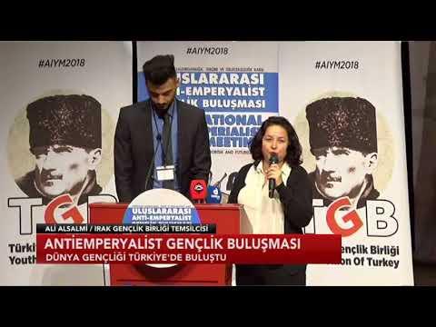 Antiemperyalist Gençlik Buluşması' Türkiye'de gerçekleşecek