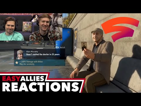Google Stadia Connect - Easy Allies Reactions - Gamescom 2019