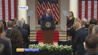 President Trump vows to protect Amy Coney Barrett from attacks on Catholic faith | EWTN News Nightly