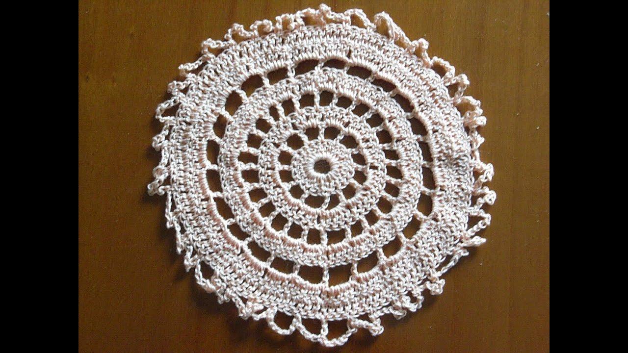 Häkelnmotiv 1*Häkeldeckchen *Untersetzer*Tabledcloth crochet ...