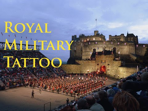 EDINBURGH CASTLE - The Royal Military Tattoo - Live Performance