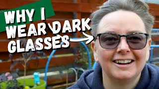 My Purple Glasses - Irlen Syndrome (visual stress) why I wear purple glasses