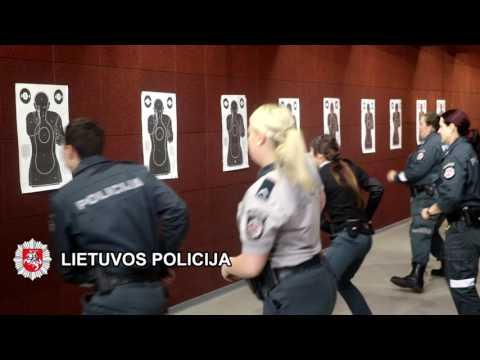 Klaipėdos apskrities policijos pareigūnų taktinis rengimas