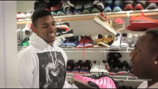 "A ""sneak Peek"" Inside Nick Young's Sneaker Closet"