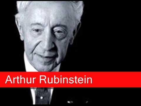Arthur Rubinstein: Chopin - Nocturne Op. 9 No. 2 In E Flat Major