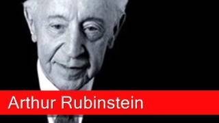 Arthur Rubinstein: Chopin - Nocturne Op. 9 No. 2 in E flat major