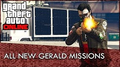 GTA Online: All NEW Gerald Missions