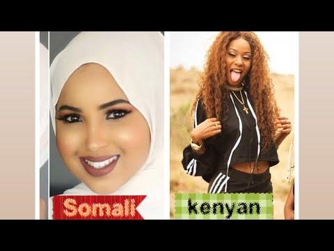 Somali girls Vs Kenyan Girls  (who is the best in tik tok ) tik tok challenges thumbnail