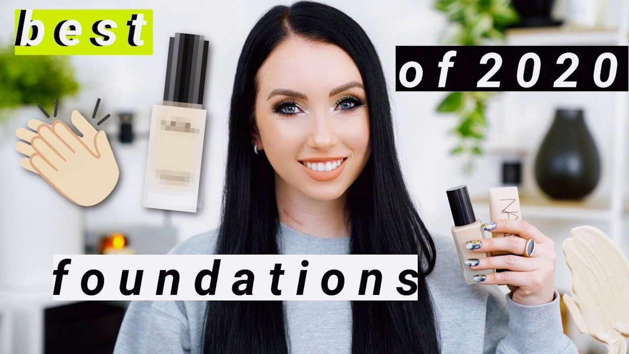 BEST FOUNDATIONS OF 2020! My Most Worn & Reached For Foundations