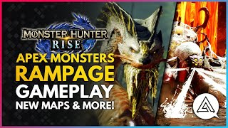 Monster Hunter Rise | APEX Monsters Return, Rampage Mode Gameplay, New Monsters, Maps & More!