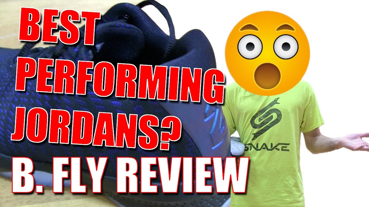 7844c7d78dce Jordan B. Fly Review - Best Performing Jordan s Right Now  - YouTube